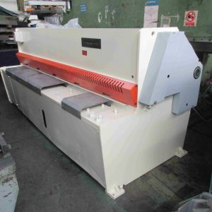 Used Edwards 6.5m/3000mm hydraulic shear/guillotine for sale